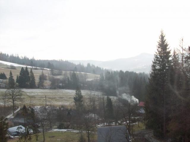 Widok z okna U Wujcia Wisła Partecznik 20a Noclegi, Kwatery, Pensjonat