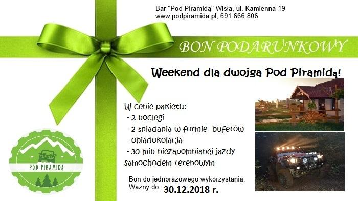 Bon Pod Piramidą na weekend dla dwojga