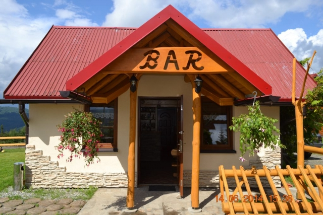 Bar na Wiślańskim szlaku w stronę Trzech Kopców